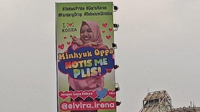 Viral Gadis Pasang iklan Diri di Papan Reklame biar Mendapat Perhatian Artis Korea