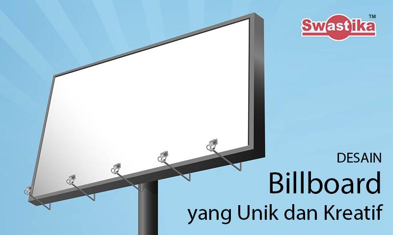 3 Desain Billboard yang Unik dan Kreatif